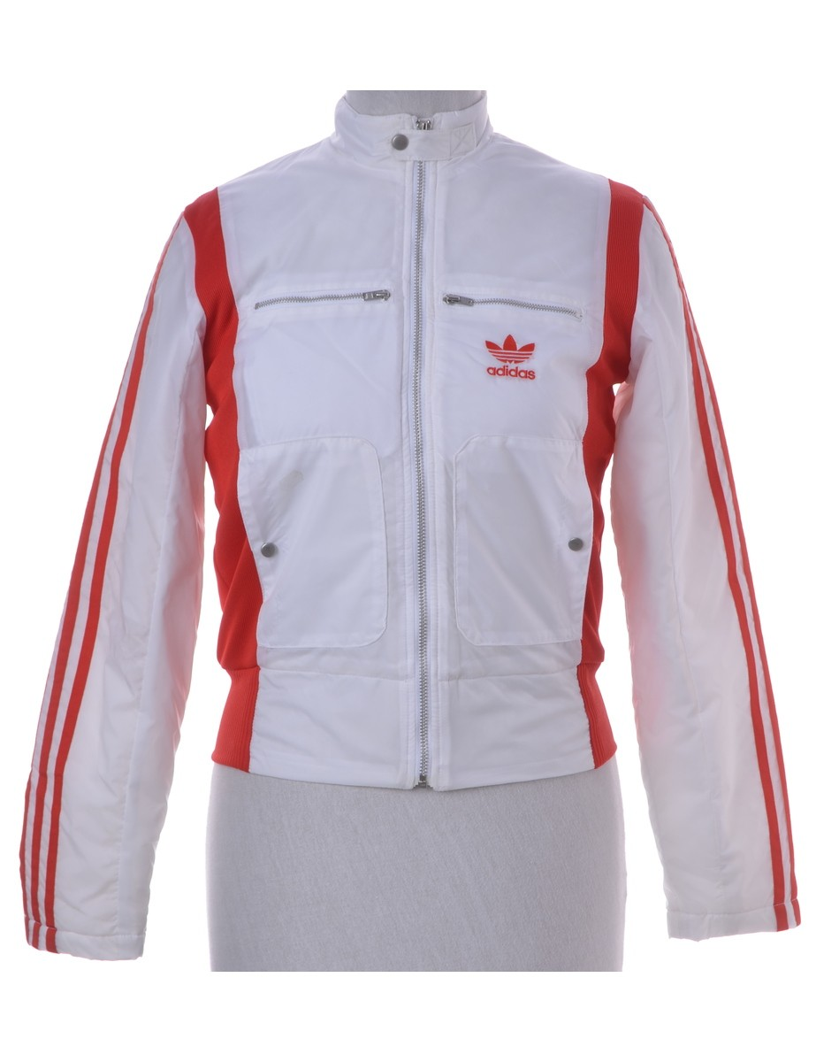 Team Jacket White With Multiple Pockets - £35.00