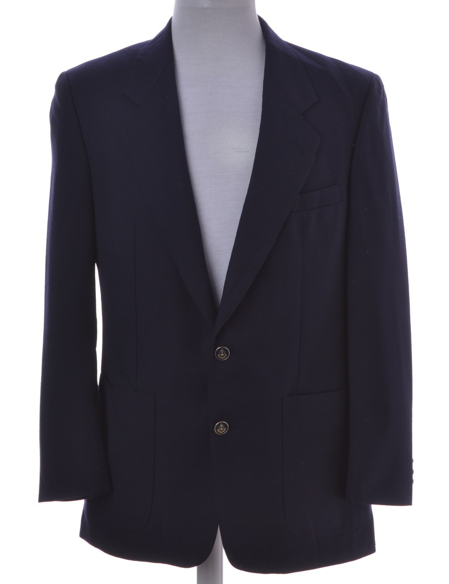 Vintage Blazer Navy With A Revere Front - £28.00