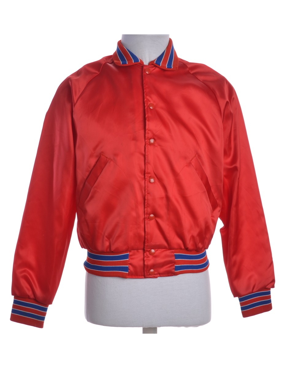 Team Jacket Red With Pockets - £27.00