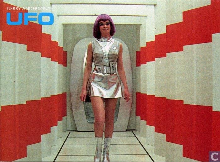 Image: Gabrielle Drake in UFO 1970 via Pinterest