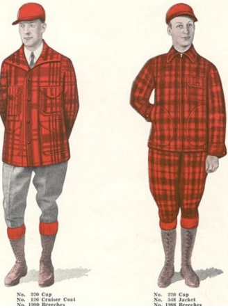 Early 1930's Buffalo Plaid Huntsman Suit