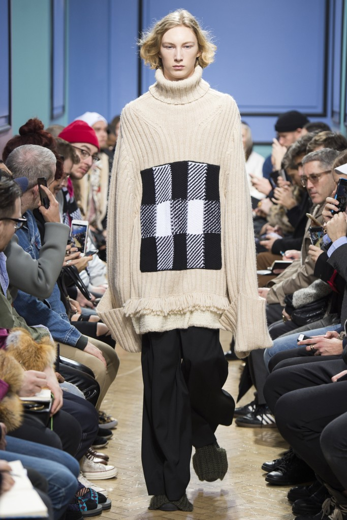 JW Anderson isn't afraid of over sizing!