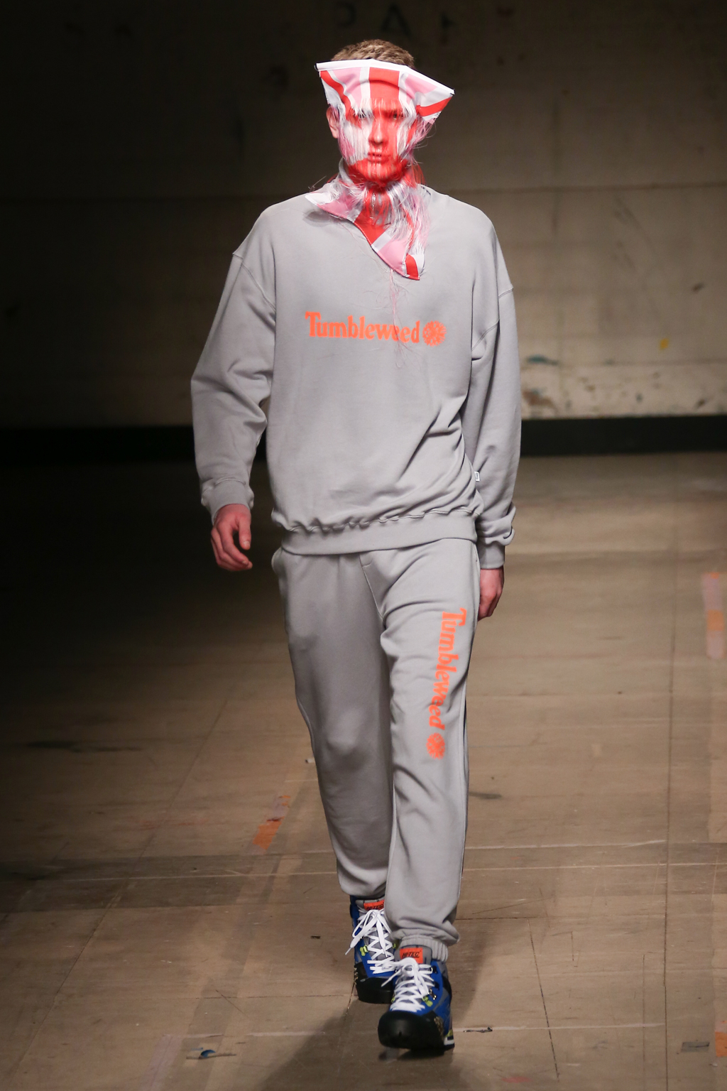 Christopher Shannon takes inspiration from the 90s classic tracksuit