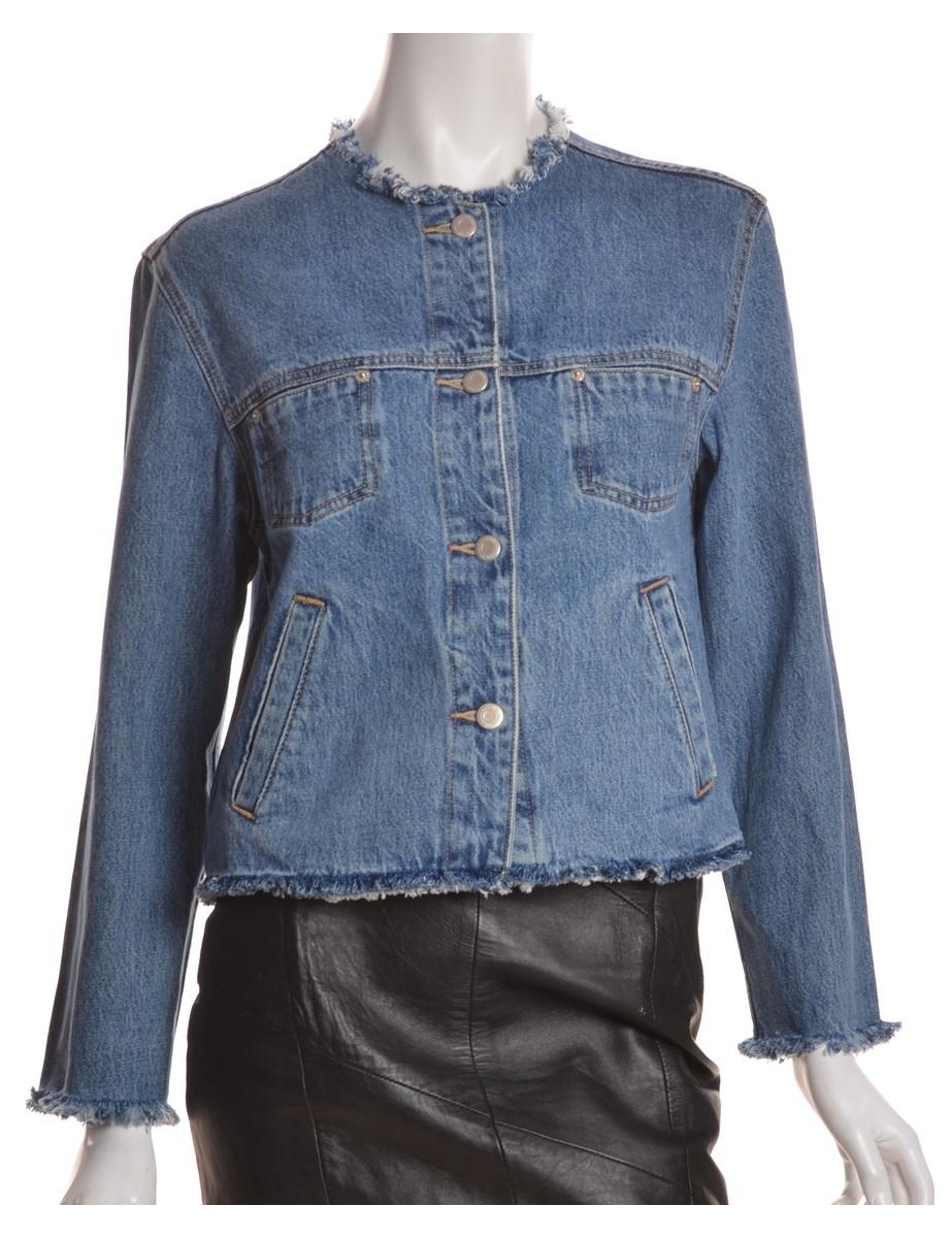 label denim jacket