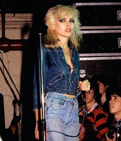 Blondie's Debbie Harry (source pinterest)